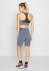 Salewa - PEDROC CARGO - Sports shorts - ombre blue - 2
