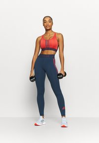 adidas Performance - Medium support sports bra - crered/crenav - 1