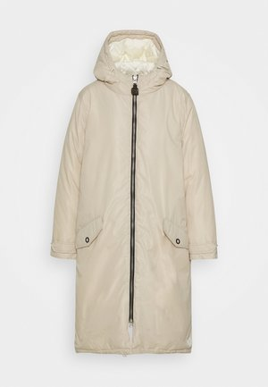 OVERSIZED LONGER LENGTH JACKET - Parka - icy white