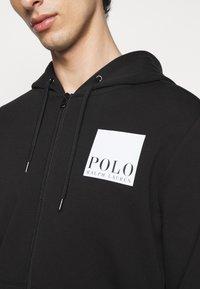 Polo Ralph Lauren - TECH - veste en sweat zippée - black - 7