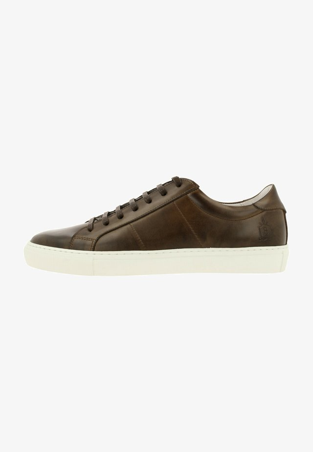 HUGO B AMS LT - Sneakers laag - dbrwn