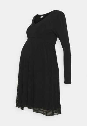 MLCAMILLE DRESS - Žerzejové šaty - black