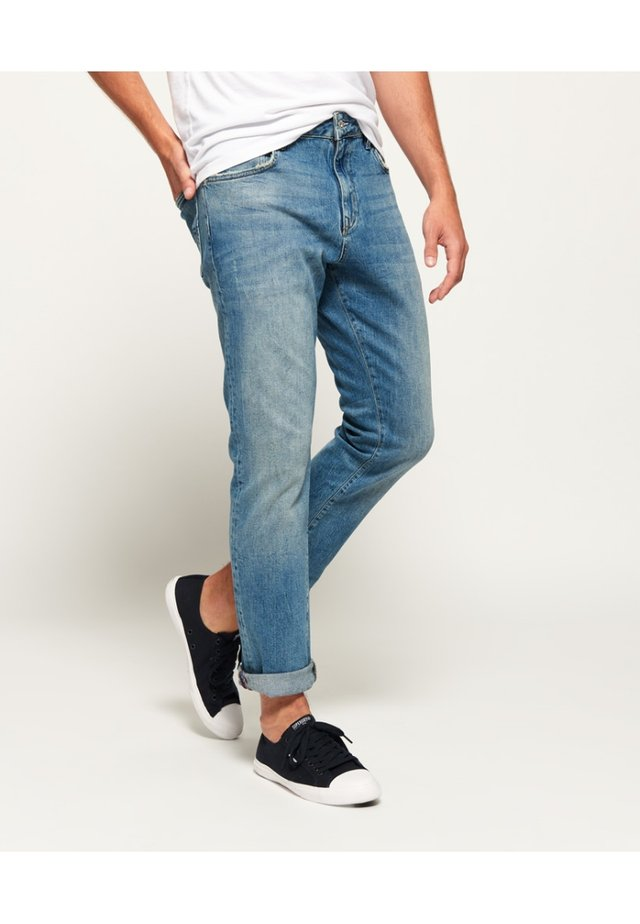 DAMAN - Straight leg jeans - light blue