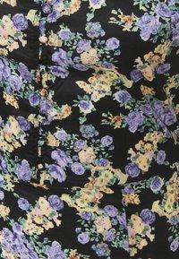 Missguided Tall - HALF BUTTON TEA DRESS - Maxi dress - black - 2