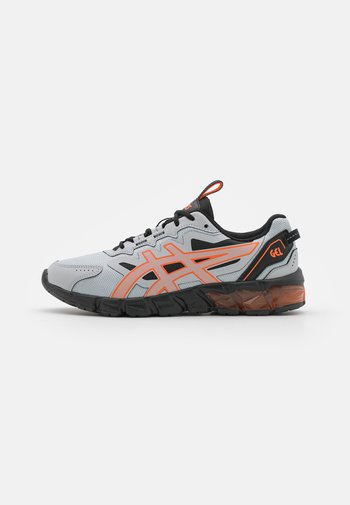 GEL-QUANTUM 90 - Neutral running shoes - piedmont grey/marigold orange