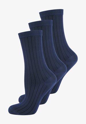 3 PACK - Sokken - nachtblau