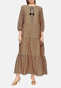 s.Oliver BLACK LABEL - Maxi dress - orange aop - 4