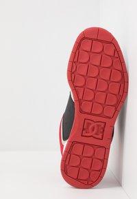 DC Shoes - CENTRAL - Obuwie deskorolkowe - black/red/grey - 4