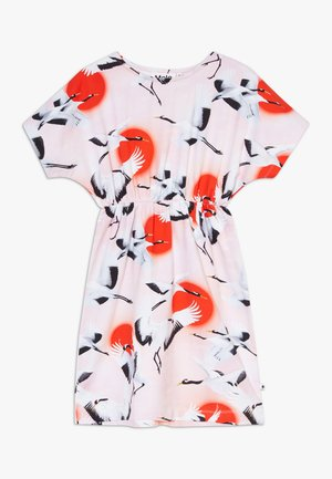 CHRISTA - Jersey dress - sunrise cranes
