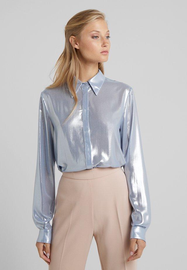 CAMICIA - Button-down blouse - blue