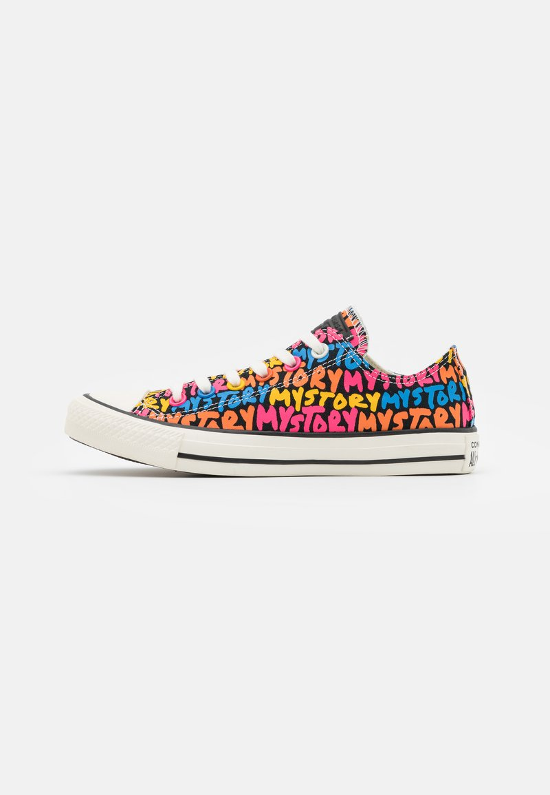 Converse - CHUCK TAYLOR ALL STAR MY STORY - Trainers - black/bold mandarin/white