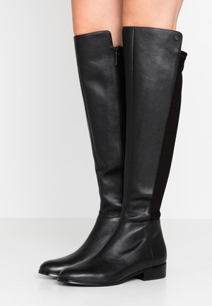 BROMLEY FLAT BOOTIES - Cuissardes - black
