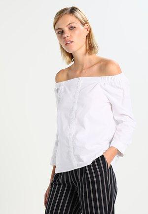 ONLDREW - Blouse - white