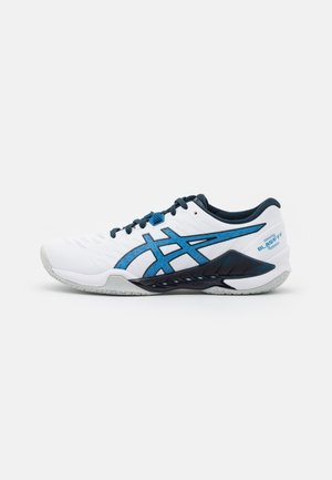 BLAST FF - Handball shoes - white/reborn blue
