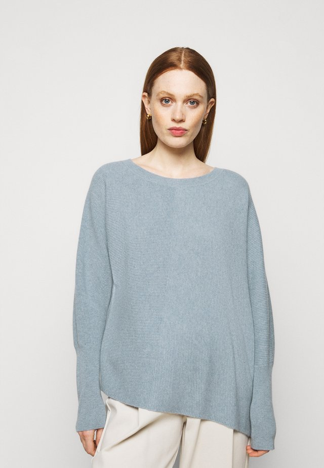 SWEATER - Pullover - dusty blue