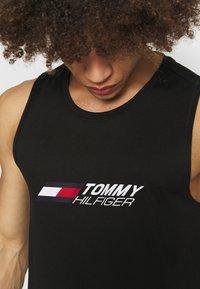 Tommy Hilfiger - ESSENTIALS TRAINING TANK - Top - black - 3