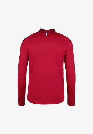 ZIP CHAMP 2.0 - Fleece jumper - rot/weinrot