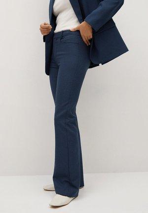 VERA-I - Spodnie materiałowe - blau