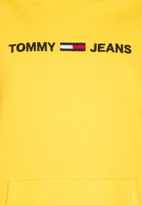 Tommy Jeans - LINEAR LOGO - Hoodie - star fruit yellow - 2