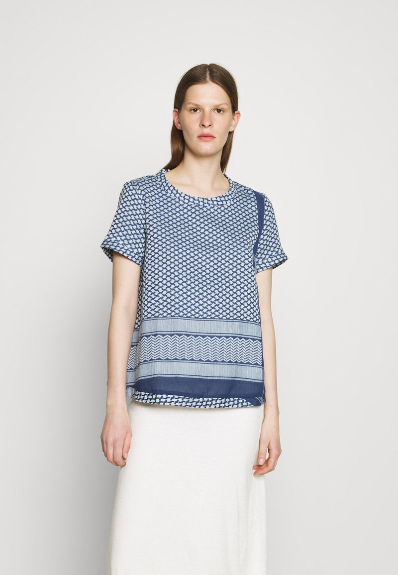 CECILIE copenhagen - T-shirts med print - twilight blue
