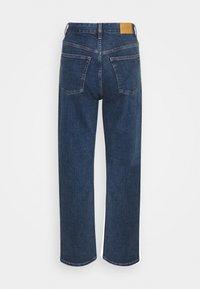 Monki - ZAMI LA LUNE - Straight leg jeans - blue medium dusty - 6