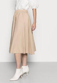 Part Two - INGA - A-line skirt - safari - 3