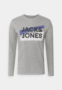 Jack & Jones - JACTROY  - Pyjama top - grey melange - 5