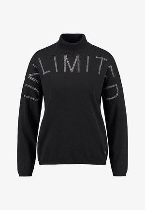 UNLIMITED - Sweatshirt - schwarz