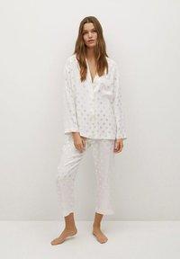 Mango - NIT-I - Pyjama top - hvit - 1