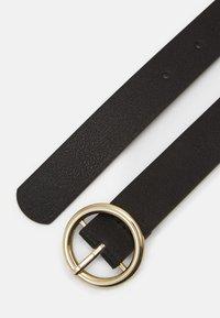 Pieces - PCBONNA JEANS BELT  - Vyö - black/gold-coloured - 1