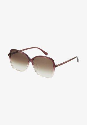 Sunglasses - burgundy/brown
