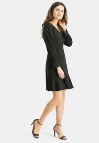 Nicowa - Day dress - schwarz - 1