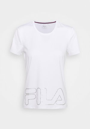 FELIZ - T-shirts med print - white