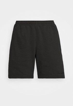 BASICS UNISEX - Shorts - black