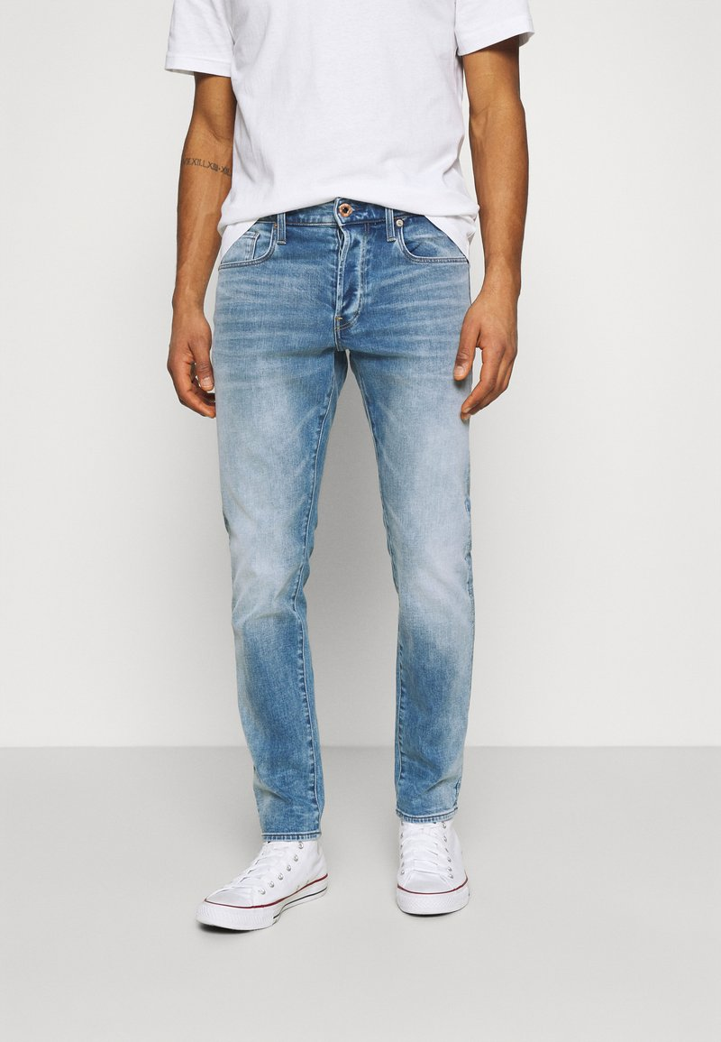 G-Star - 3301 SLIM - Slim fit jeans - vintage beryl blue