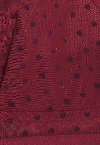 Monki - SISSELA BRA - Underwired bra - red dark - 2