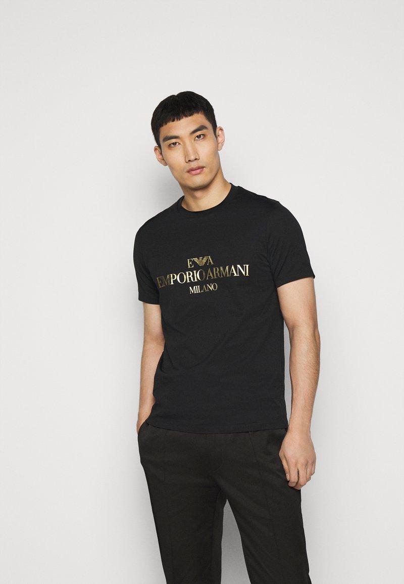 Emporio Armani - T-shirt print - black