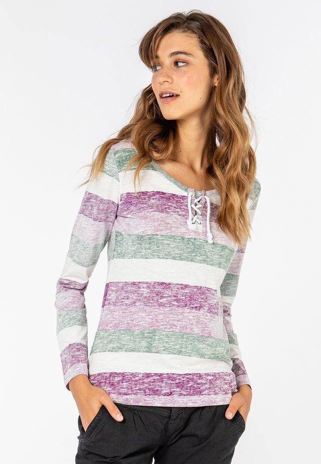 MIT KORDELN - Long sleeved top - purple