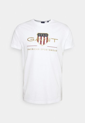 ARCHIVE SHIELD - Print T-shirt - white