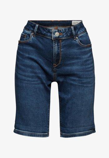 Denim shorts - blue medium washed