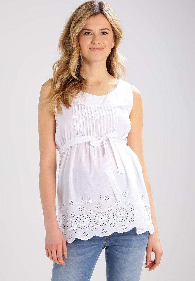 PRETTY - Blusa - white