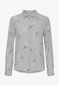 ICHI - Button-down blouse - alloy - 4