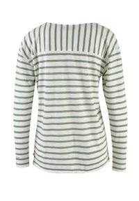 Smith&Soul - LANGARM GESTREIFT  - Long sleeved top - sage green - 1
