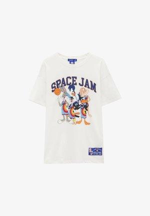SPACE JAM - Printtipaita - off-white