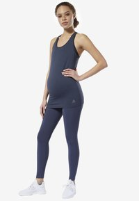 Reebok - YOGA LUX 2.0 MATERNITY TIGHTS - Tights - blue - 1