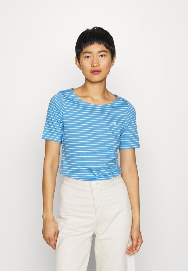 SHORT SLEEVE ROUND NECK - Camiseta estampada - multi/northern sky