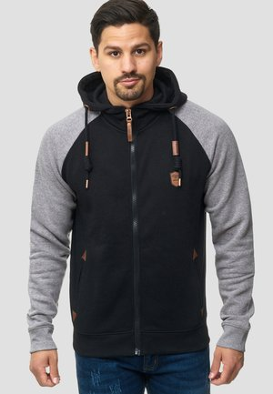 ARBUTUS - veste en sweat zippée - black