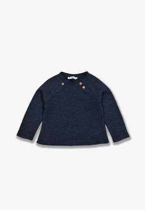 DOUBLE BUTTONED THESSALONIKI - Sweater - navy blue