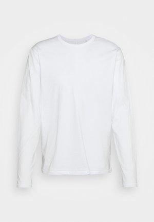PRINCIPLE BASE - Top sdlouhým rukávem - white