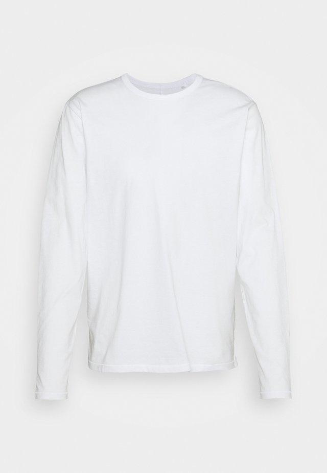 PRINCIPLE BASE - Topper langermet - white